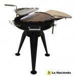 La Hacienda Cordoba Steel Firepit Grill