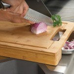 Napoleon PRO Series Carving/Cutting Board with Stainless Steel Bowls