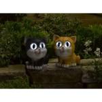 Smart Solar Bright Eye Cats 2PK (Bess & Ginger)