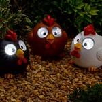 Smart Solar Bright Eye Happy Hens 3PK