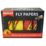 Rentokil Flypapers 8's