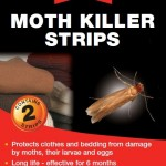 Rentokil Moth Killer Strips Twin Pack