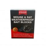 Rentokil Mouse & Rat Waterproof Bait Blocks 12