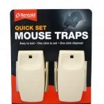 Rentokil Quick Set Mouse Traps Twin Pack