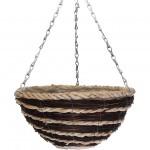 Botanico Coffee/Cream Duo Round Basket & PE Liner
