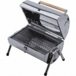 Lifestyle Stainless Steel Barrel Portable Charcoal Barbecue