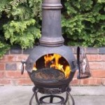 Gardeco Toledo Large Cast Iron Chimenea (BRONZE)