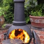 Gardeco Toledo Extra Large Cast Iron Chimenea (BLACK)