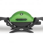 Weber Q1200 Green Portable Gas BBQ